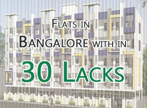 Flats in Bangalore within 30 lakhs