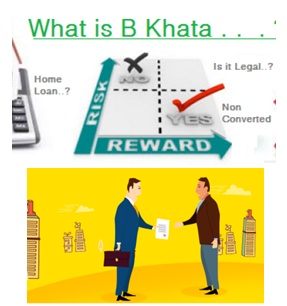 what should you do if you own a b khata property